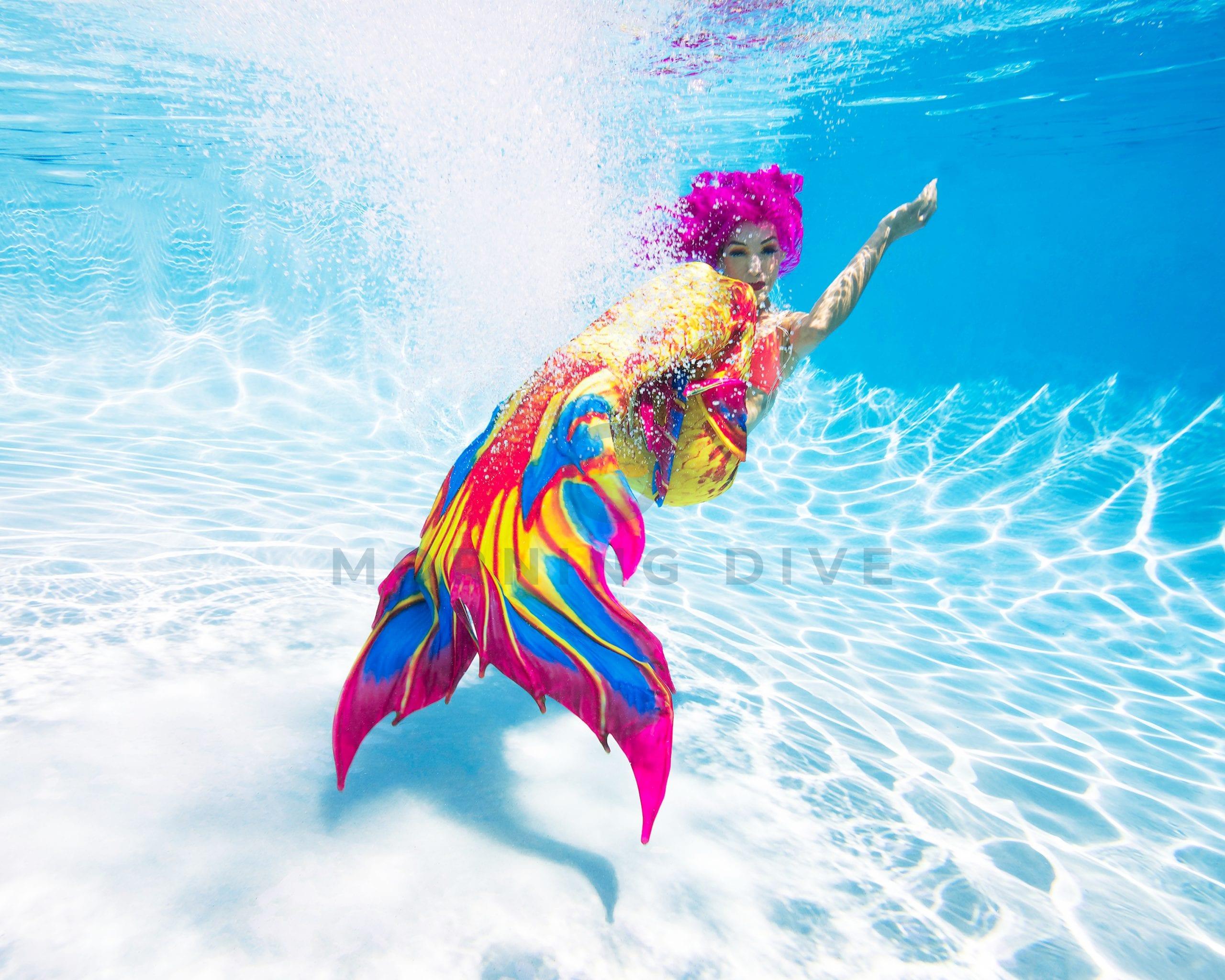 underwater photography mermaid