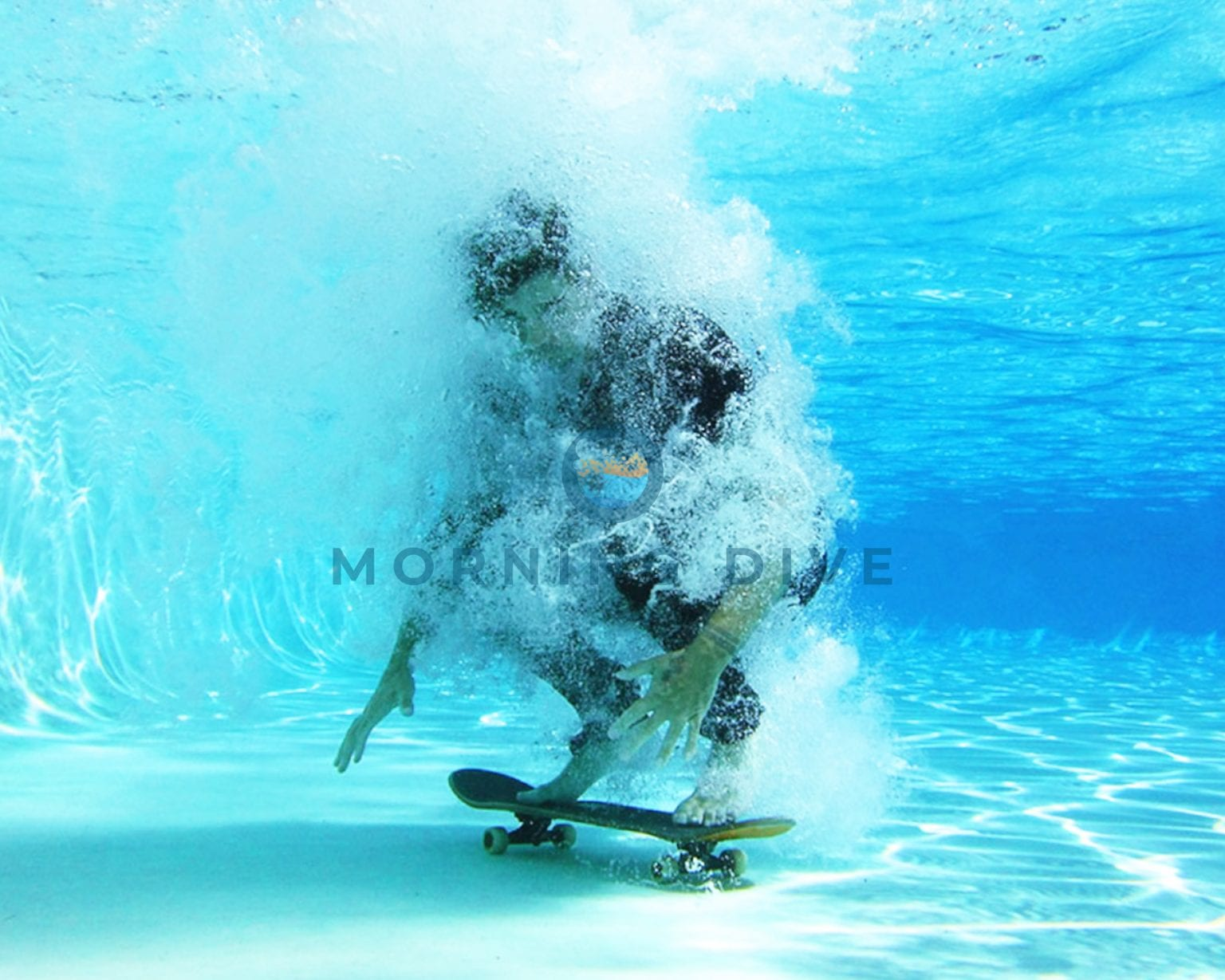 underwater photography skater